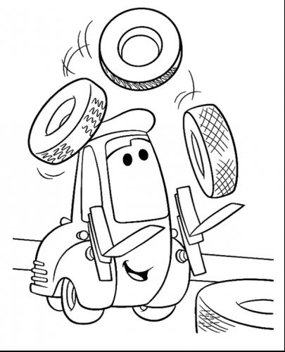 disegni di cars da colorare