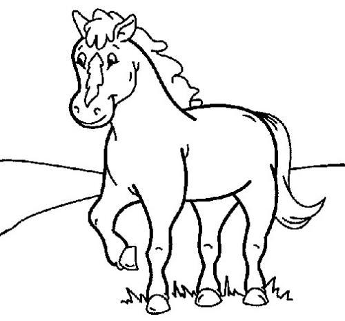 disegni di cavalli da stampare