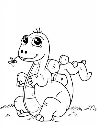 disegni di dinosauri per bambini