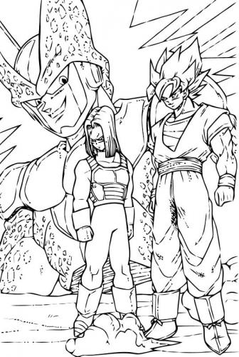 disegni di Dragon Ball Z