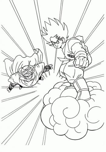 disegni di Dragon Ball
