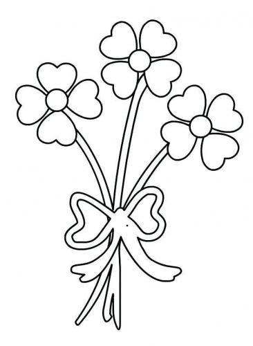 disegni di fiori facili