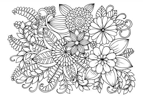 disegni di fiori stilizzati
