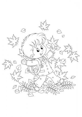 disegni di foglie da colorare e stampare
