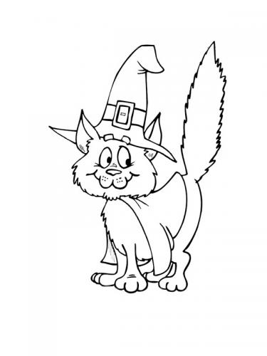 disegni di gatti da stampare e colorare