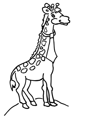 disegni di giraffe per bambini