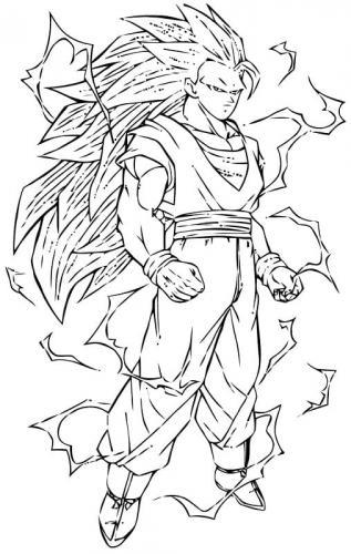 disegni di Goku Super Sayan