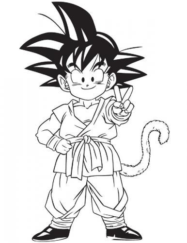 disegni di Goku