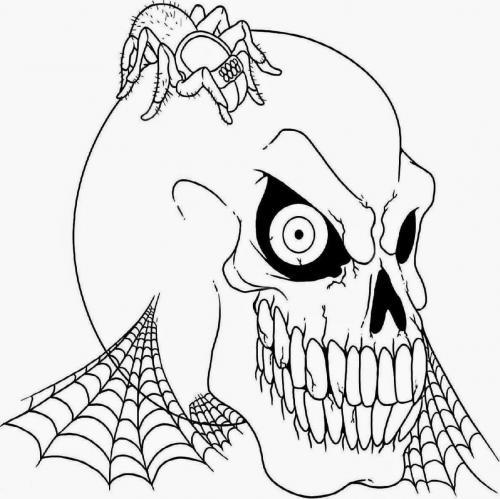 maschera del teschio
