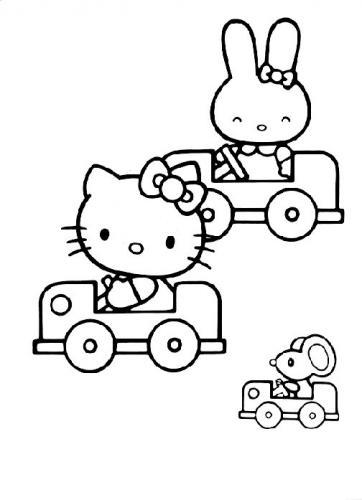 Hello Kitty 72 Disegni Da Stampare E Colorare A Tutto Donna