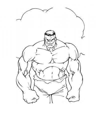 disegni di hulk