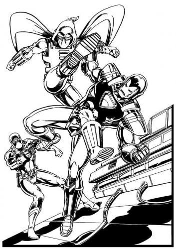 disegni di Iron Man