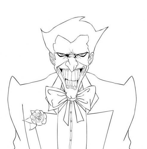 Joker Da Colorare.Batman Da Colorare 64 Disegni Da Stampare A Tutto Donna