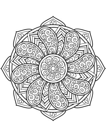 disegni di mandala