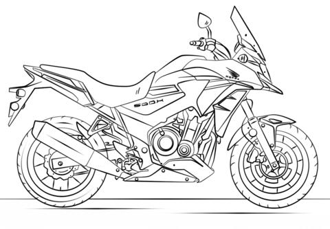 disegni di moto