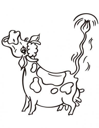 mucca che muggisce