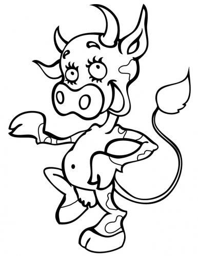 vitello divertente
