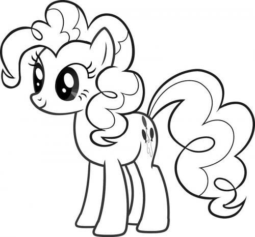 Disegni di My Little Pony da colorare