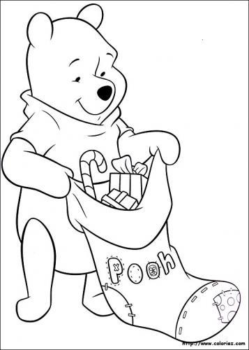 Winnie the Pooh prepara la calza di Natale