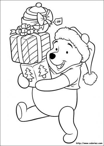 Winnie the Pooh porta i regali