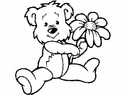 disegni di orsi per bambini