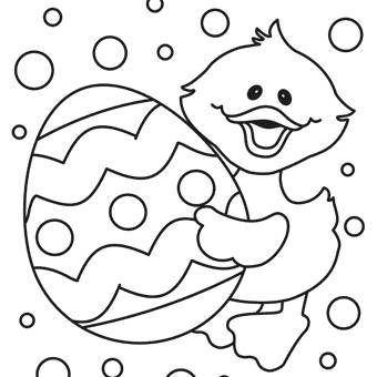 disegni di pasqua da colorare e stampare gratis