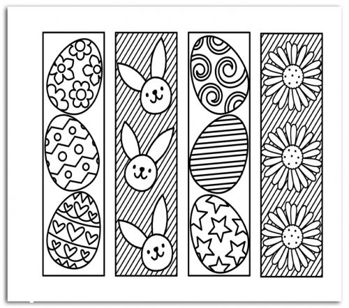 disegni di pasqua per bambini