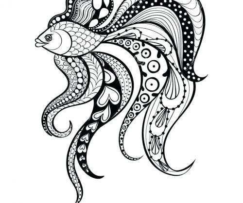 pesciolina stilizzata