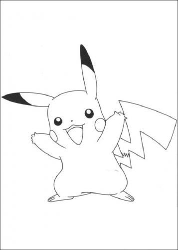 disegni di Pikachu