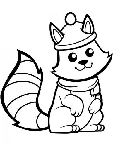 disegni di scoiattoli