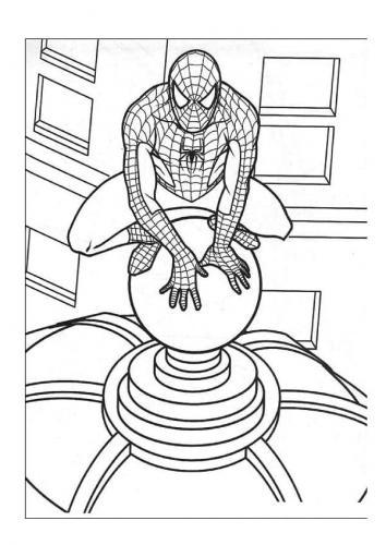 disegni di spiderman