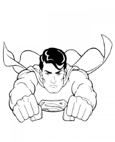 disegni di Superman
