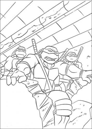 disegni di tartarughe ninja