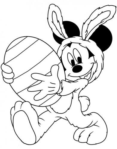 disegni di topolino da colorare