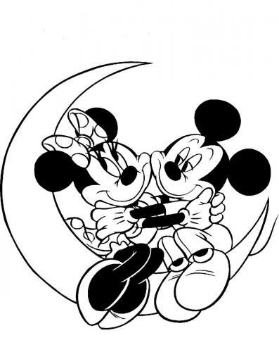 disegni di topolino e minnie