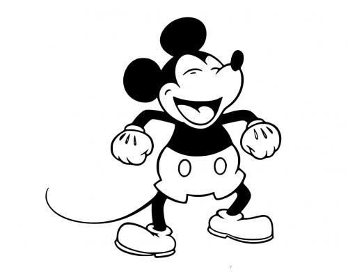 disegni di topolino