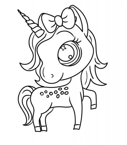 Disegni Unicorni Per Bambini Gratis Da Colorare E Stampare Gbr