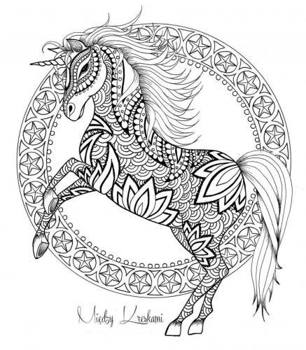 disegni di unicorni