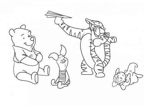 disegni di winnie the pooh