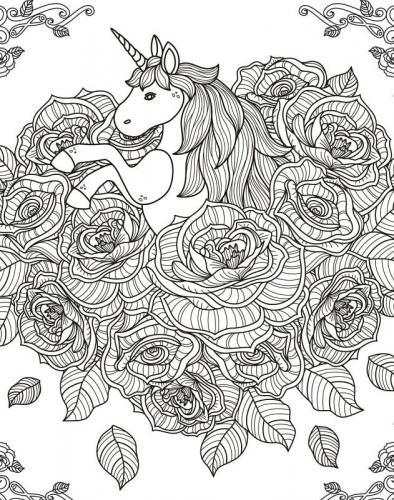 cavallo bello da colorare