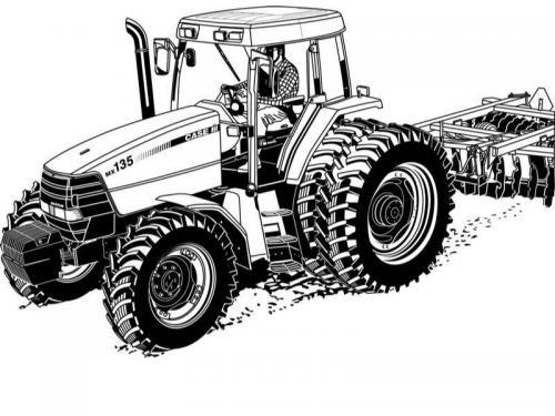 trattore disegnare