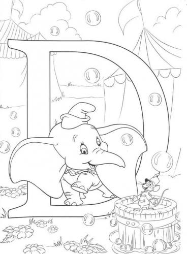 disegni Disney Dumbo