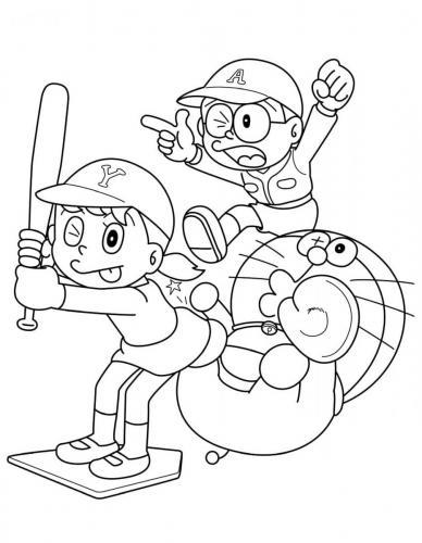 Disegni Doraemon