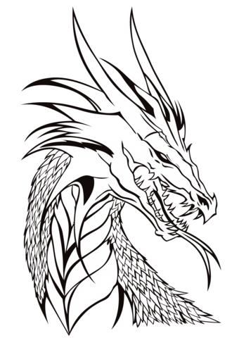 disegni drago