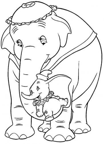 disegni Dumbo da stampare