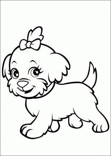 disegni facili da disegnare di cani