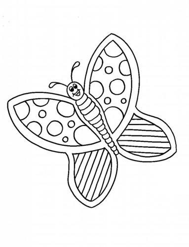 disegni farfalle da colorare