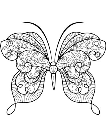 disegni farfalle stilizzate