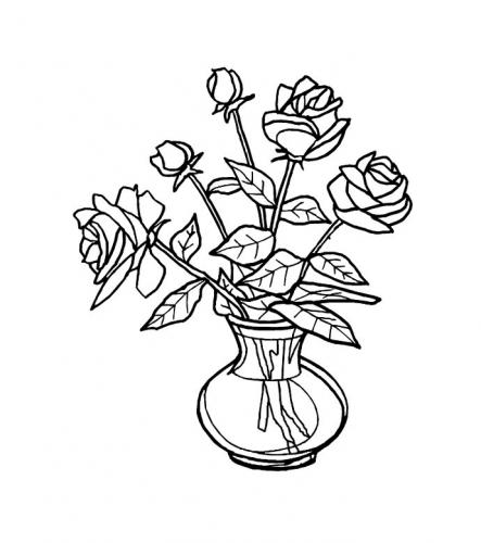 disegni fiore