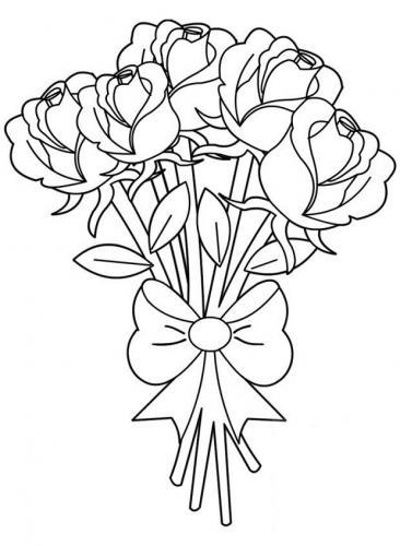 disegni fiori da colorare